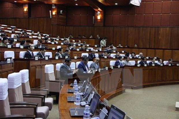 Remise des cadeaux de l'AN vietnamienne au Senat cambodgien hinh anh 1