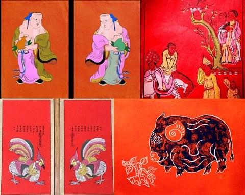 Ressusciter les estampes populaires de Kim Hoang hinh anh 1