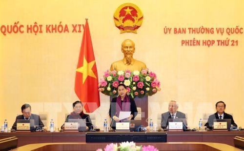 Plusieurs projets de loi au menu de la 21e reunion du Comite permanent de l'AN hinh anh 1