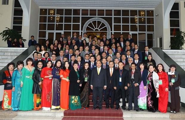Le Premier ministre recoit des « Viet kieu » hinh anh 1