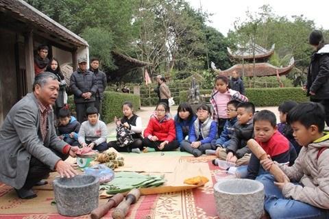 A la decouverte du Tet vietnamien au Musee d'ethnographie du Vietnam hinh anh 2