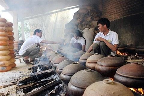 Effervescence dans les villages de metiers a l'approche du Tet hinh anh 1