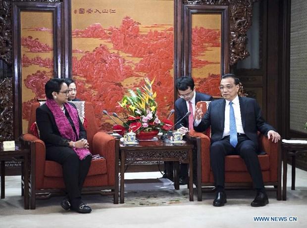 La Chine et l'Indonesie conviennent de coordonner leurs strategies de developpement hinh anh 1