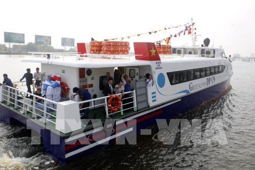 Tourisme : une nouvelle ligne de bateaux-express Ho Chi Minh-Ville - Vung Tau hinh anh 1