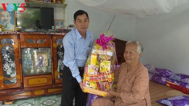 Tet traditionnel : les activites caritatives se multiplient hinh anh 1