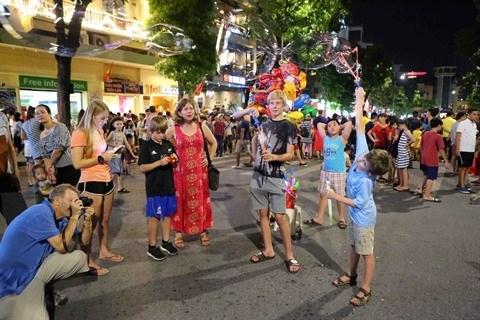 Hanoi n'ouvre pas les rues pietonnes pendant le Tet hinh anh 1