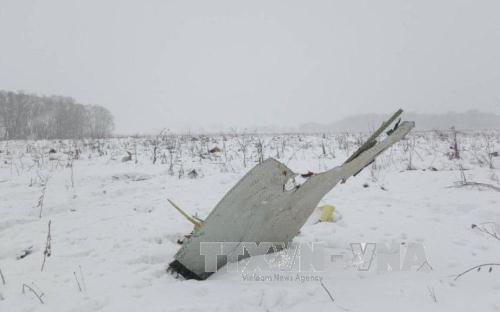 Accident d'un avion russe : message de sympathie du Vietnam hinh anh 1