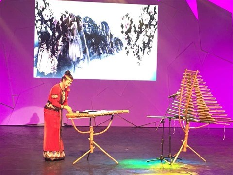 Quand la musique traditionnelle du Vietnam resonne aux JO 2018 hinh anh 2