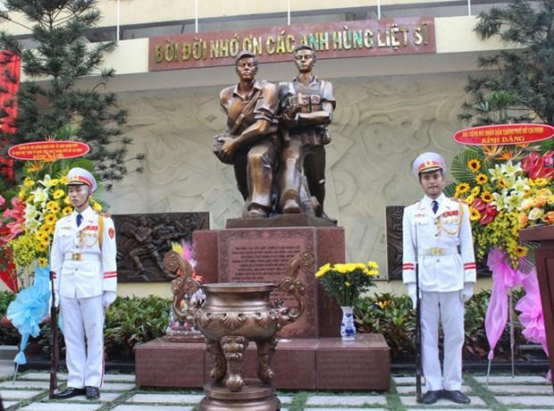 Inauguration du memorial des commandos ayant attaque la radio de Saigon en 1968 hinh anh 1
