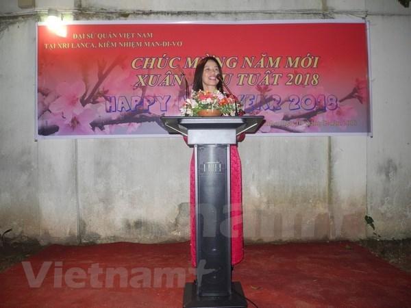 La communaute des Vietnamiens a l'etranger salue le Nouvel An lunaire 2018 hinh anh 1