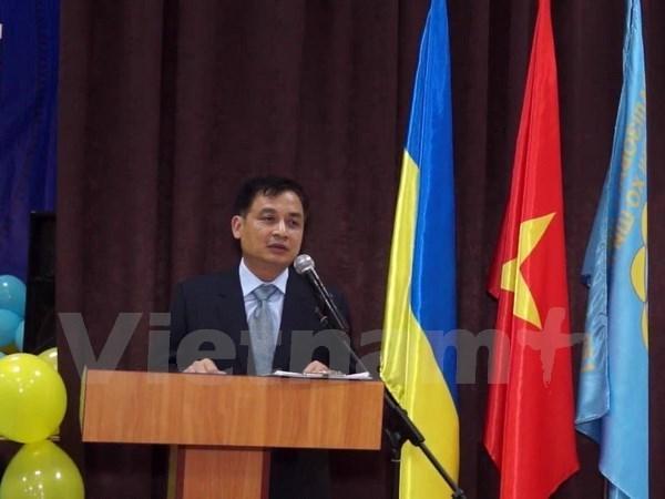 Renforcement des relations entre les villes vietnamiennes et Kiev (Ukraine) hinh anh 1
