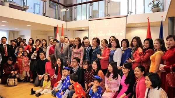 De l'Asie en Europe, les Vietnamiens fetent le Tet hinh anh 1