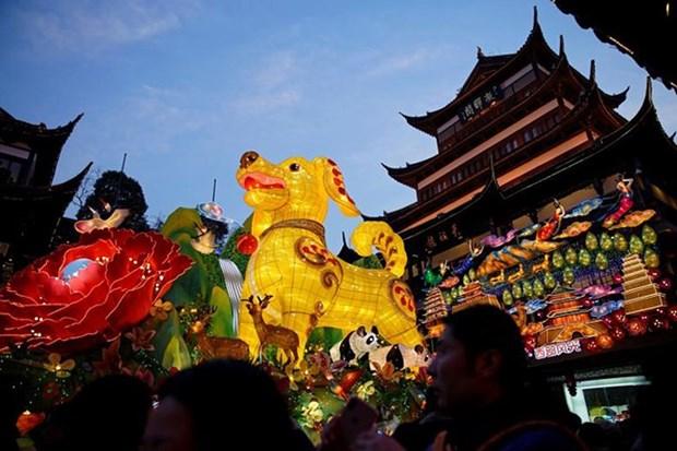 Les Asiatiques fetent le Nouvel an lunaire hinh anh 1