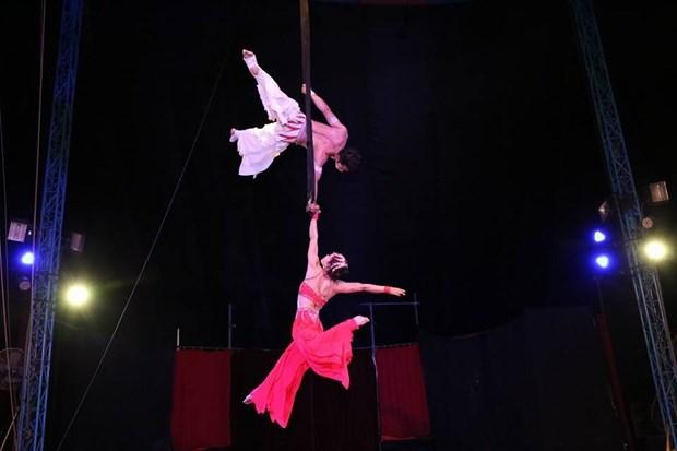 Ouverture du 1er gala international de cirque de Ho Chi Minh-Ville hinh anh 1