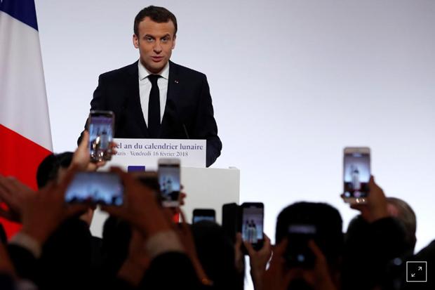 Macron veut diversifier les partenariats de la France en Asie hinh anh 1