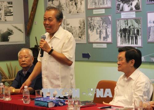 Rencontre avec d'anciens prisonniers revolutionnaires a Ho Chi Minh-Ville hinh anh 1