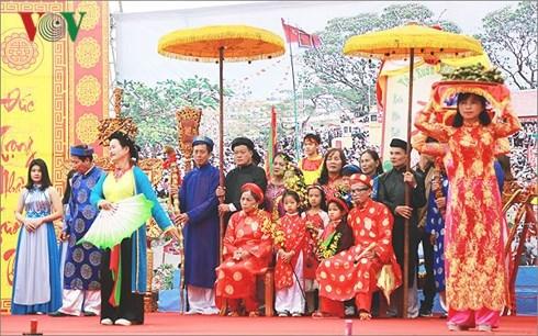 "Quang Ninh: ""Procession humaine""- patrimoine culturel immateriel national hinh anh 2"