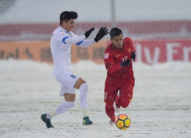 La presse japonaise apprecie le football vietnamien hinh anh 1