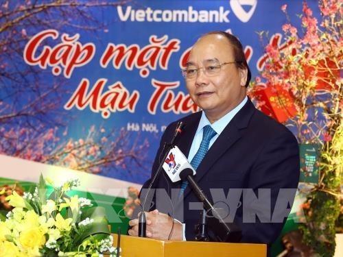 Le PM applaudit les resultats commerciaux de Vietinbank et de Vietcombank l'annee derniere hinh anh 1