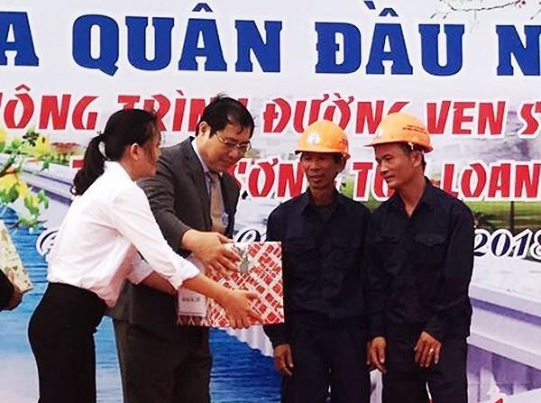 Les autorites de Da Nang se rendent sur les chantiers d'ouvrages de pointe hinh anh 1