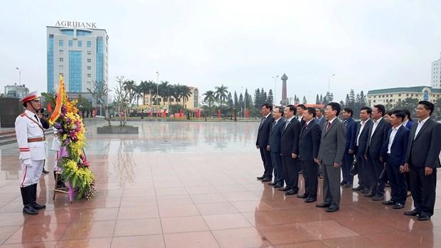 Rendre hommage au feu secretaire general du PCV Nguyen Van Linh hinh anh 1