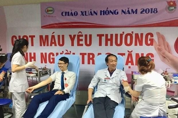 Un millier de personnes a la fete du don de sang