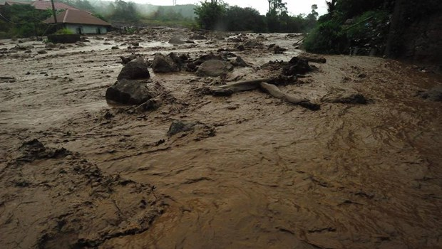 Indonesie : au moins 20 morts et disparus dans un glissement de terrain hinh anh 1