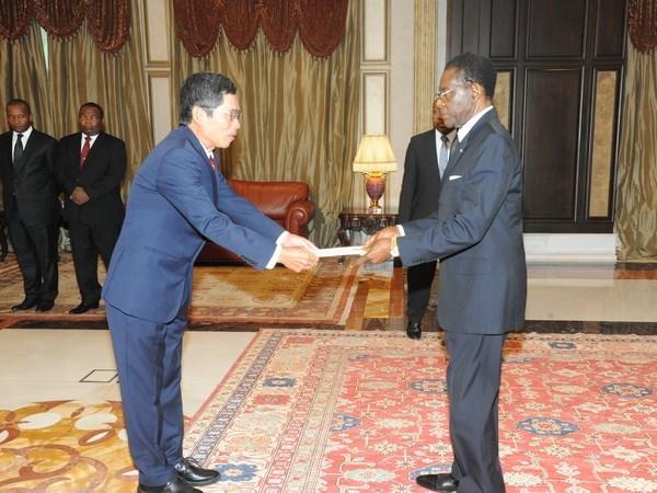 La Guinee equatoriale souhaite elargir la cooperation avec le Vietnam hinh anh 1
