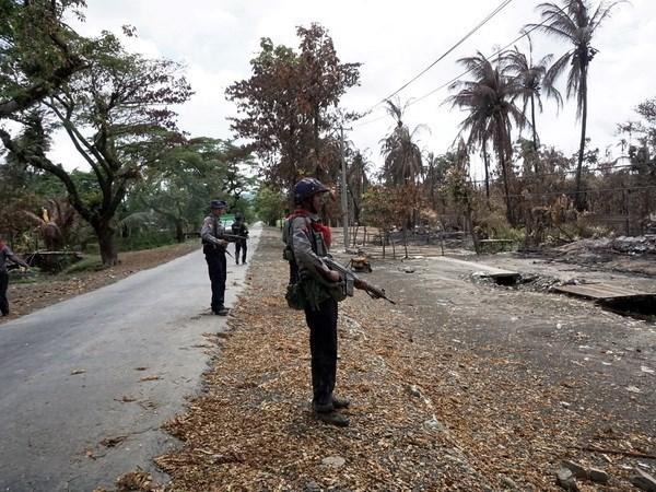 Myanmar : un quadruple attentat a la bombe dans l'Etat de l'Arakan hinh anh 1