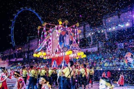 Le Vietnam a la Chingay Parade 2018 a Singapour hinh anh 1
