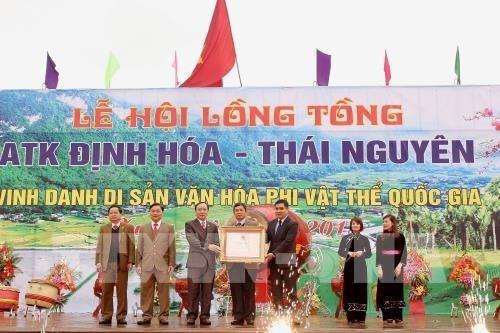Thai Nguyen: la fete de descente aux champs hinh anh 1