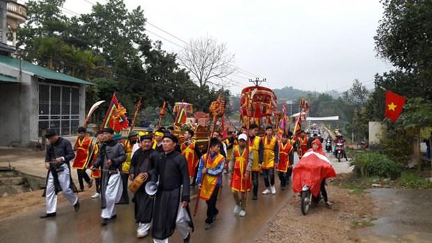 Hanoi: culte du genie Tan Vien inscrit au patrimoine culturel immateriel national hinh anh 1