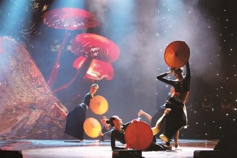 La danse folklorique, un art ancre dans la culture vietnamienne hinh anh 1
