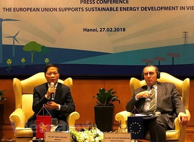 L'UE accorde 108 millions d'euros pour l'electricite en zone rurale hinh anh 1