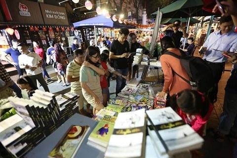 Ho Chi Minh-Ville : Cloture des activites du Tet dans la rue des livres hinh anh 1