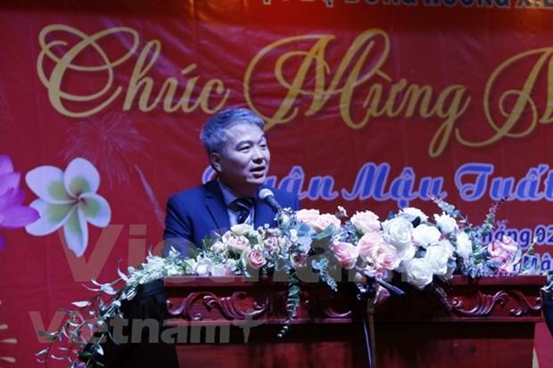 Rencontre a l'occasion du Nouvel an lunaire Mau Tuat au Laos hinh anh 1