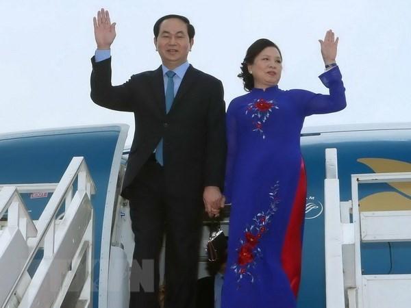 La visite d'Etat du president Tran Dai Quang promouvra les liens commerciaux Vietnam-Inde hinh anh 1