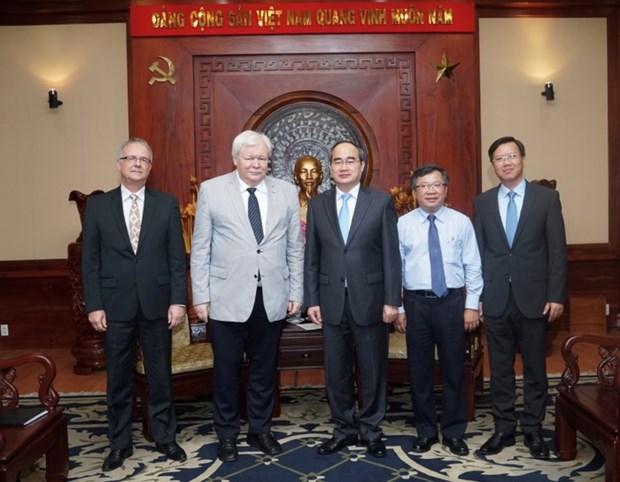 Ho Chi Minh-Ville renforce la cooperation avec les universites allemandes hinh anh 1