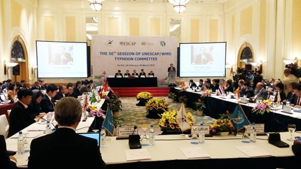 Le Vietnam organise la celebration du 50e anniversaire du Comite des typhons hinh anh 1