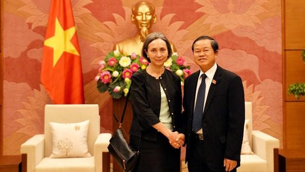 Vietnam - Mexique : vers un bel essor des relations entre les organes legislatifs hinh anh 1