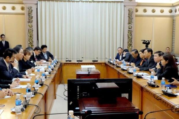 Ho Chi Minh-Ville coopere avec le Japon dans le developpement urbain hinh anh 1