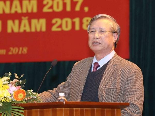 PCV : Tran Quoc Vuong est nomme permanent du secretariat hinh anh 1