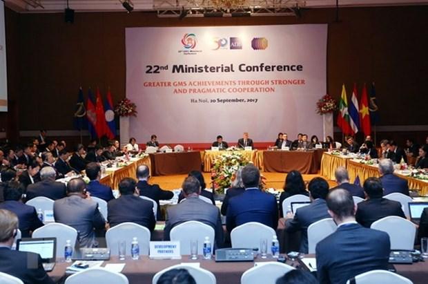 Acceleration de la connexion economique au sein de la sub-region du Mekong elargie hinh anh 1
