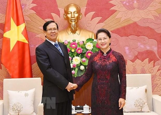 Le Myanmar souhaite copier les experiences vietnamiennes de reforme economique hinh anh 1