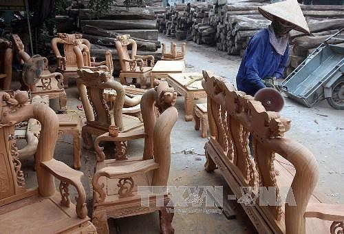 Le Vietnam a la Foire internationale de meubles de Singapour 2018 hinh anh 1