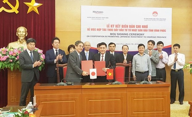 Renforcement de l'attraction des investissements japonais a Vinh Phuc hinh anh 1