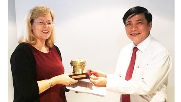 Vietnam et Norvege cooperent dans le domaine syndical hinh anh 1
