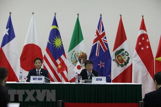 Le ministre de l'Industrie et du Commerce rencontre les ministres japonais, chilien et mexicain hinh anh 1