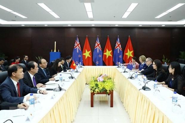 La visite officielle du PM vietnamien promouvra la cooperation integrale avec la Nouvelle-Zelande hinh anh 1
