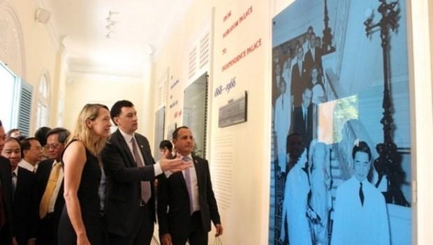 Exposition sur les valeurs historiques du Palais de Doc Lap hinh anh 1